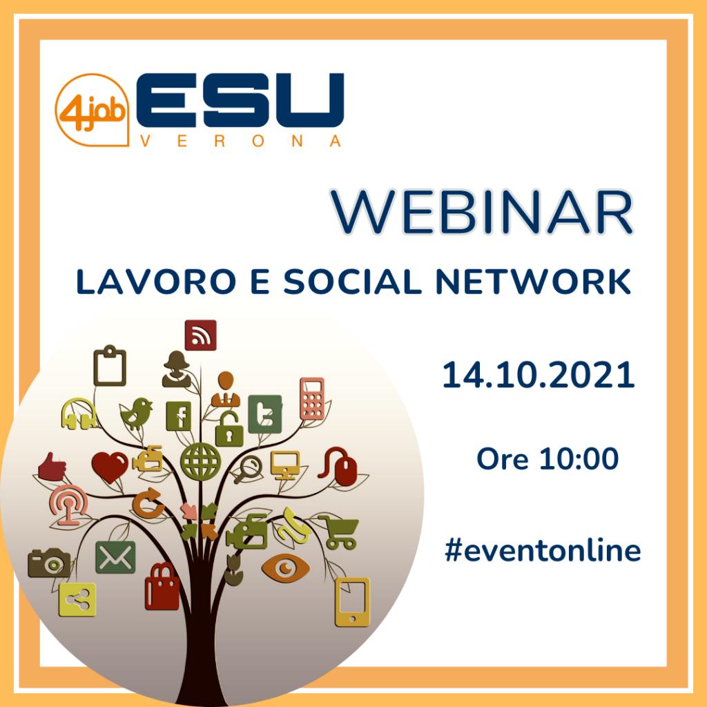 Webinar: Lavoro e Social Network
