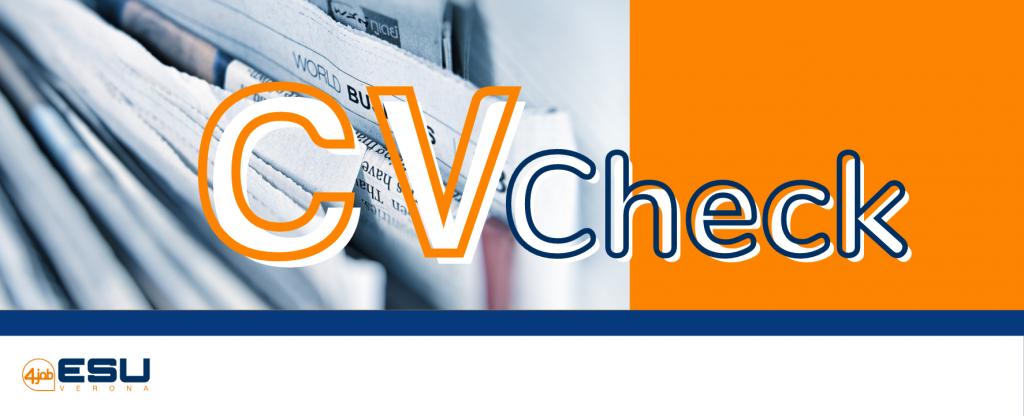 04.09.2021 - CV Check